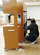 TVシステムの組付け・納品サービスサービス